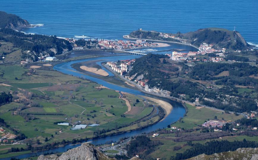 Desembocadura del Sella