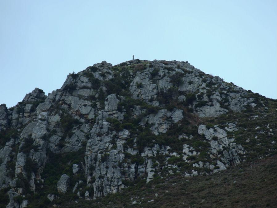 Mapa Ruta Pico Gabia