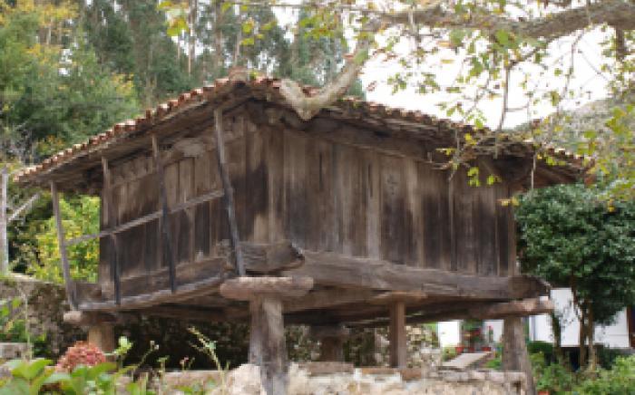 Hórreo en Cueves, Ribadesella